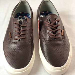 813edf18f5 Vans Shoes - Vans Era Decon Leather Emboss- Seal Brown.